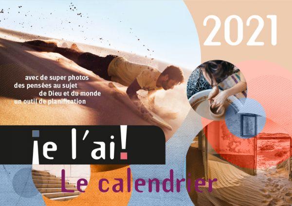 je l´ai! 2021 - Ich hab's! Kalender 2021 (Französische Version)