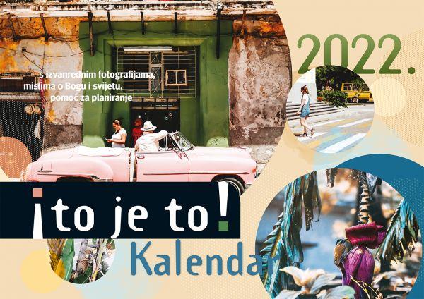 to je to! 2022 - Ich hab's! Kalender 2022 (Kroatische Version)