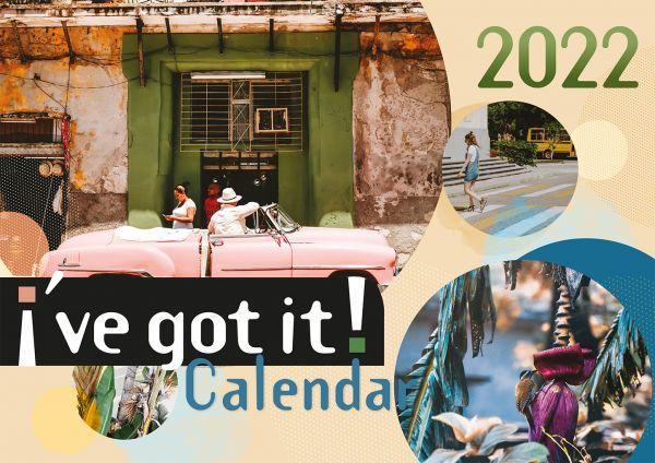 i´ve got it! 2022 - Ich hab's! Kalender 2022 (Englische Version)