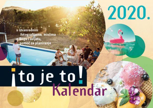 to je to! 2020 - Ich hab's! Kalender 2020 (Kroatische Version)