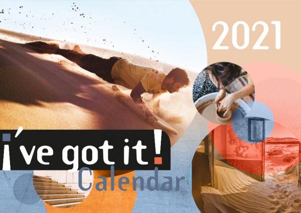 i´ve got it! 2021 - Ich hab's! Kalender 2021 (Englische Version)