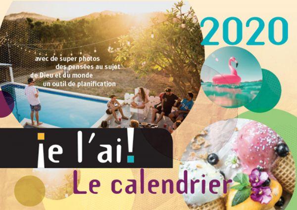 je l´ai! 2020 - Ich hab's! Kalender 2020 (Französische Version)
