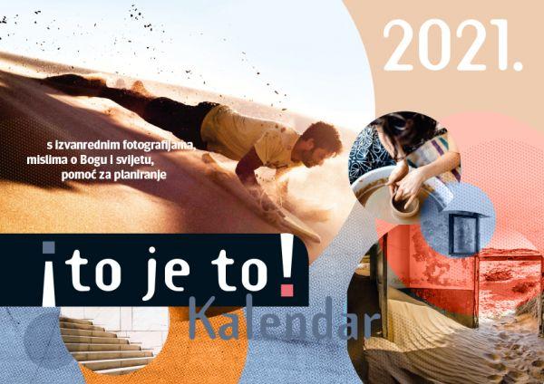 to je to! 2021 - Ich hab's! Kalender 2021 (Kroatische Version)